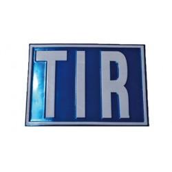 Placa metalica TIR