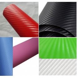 Folie carbon 3D neagra diverse culori