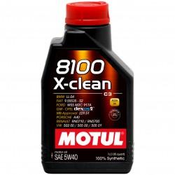 Ulei motor MOTUL 8100 X-Clean 5W-40, 1L