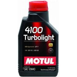 Ulei motor MOTUL 4100 Turbolight 10W-40 A3/B4, 1L