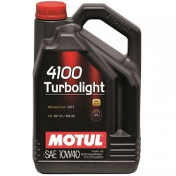 Ulei motor MOTUL 4100 Turbolight 10W-40 A3/B4, 4L