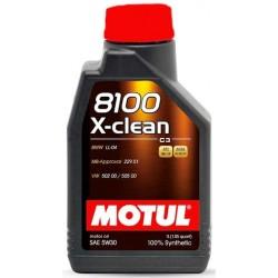 Ulei motor MOTUL 8100 X-Clean 5W-30 c3, 1L